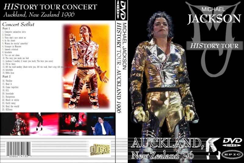 [DL] Live History World Tour Auckland 1996 New Zeland - 6.24 GB Cover15