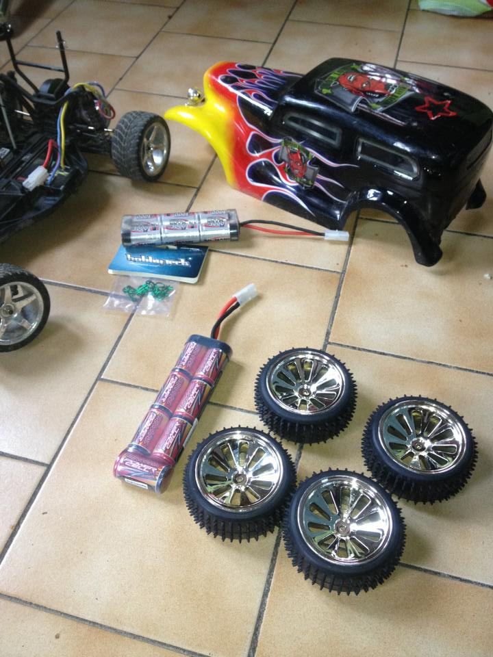 Mon ex FG Monster Beetle & mes autres ex rc non short course 97065810