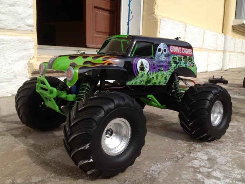 Mon ex FG Monster Beetle & mes autres ex rc non short course 97201811