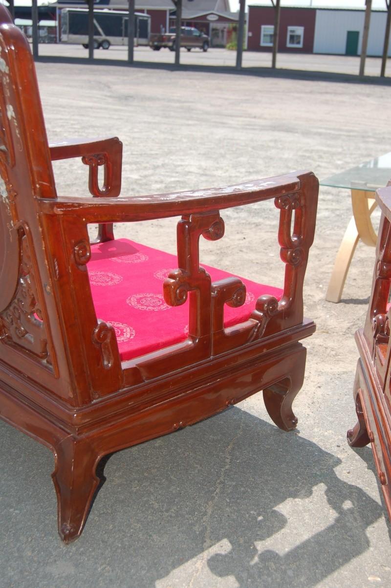VENDU - chaises fauteuils chinoises en acajou véritable 1_00410