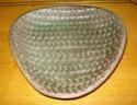 Triangular dish - WYE, KENT 001a10