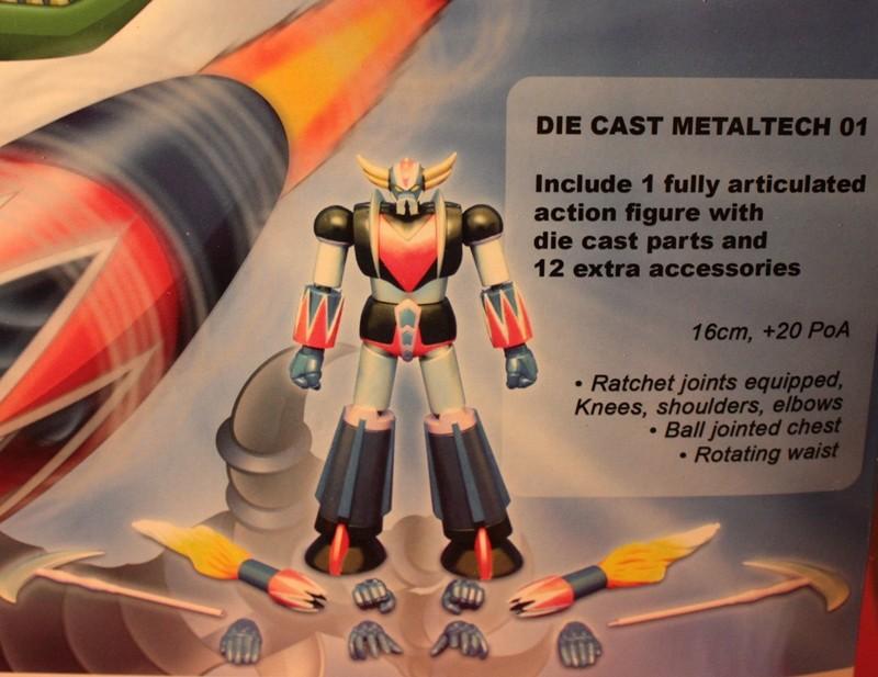 Ufo Robot GrendizeR - METALTECH 01 1310