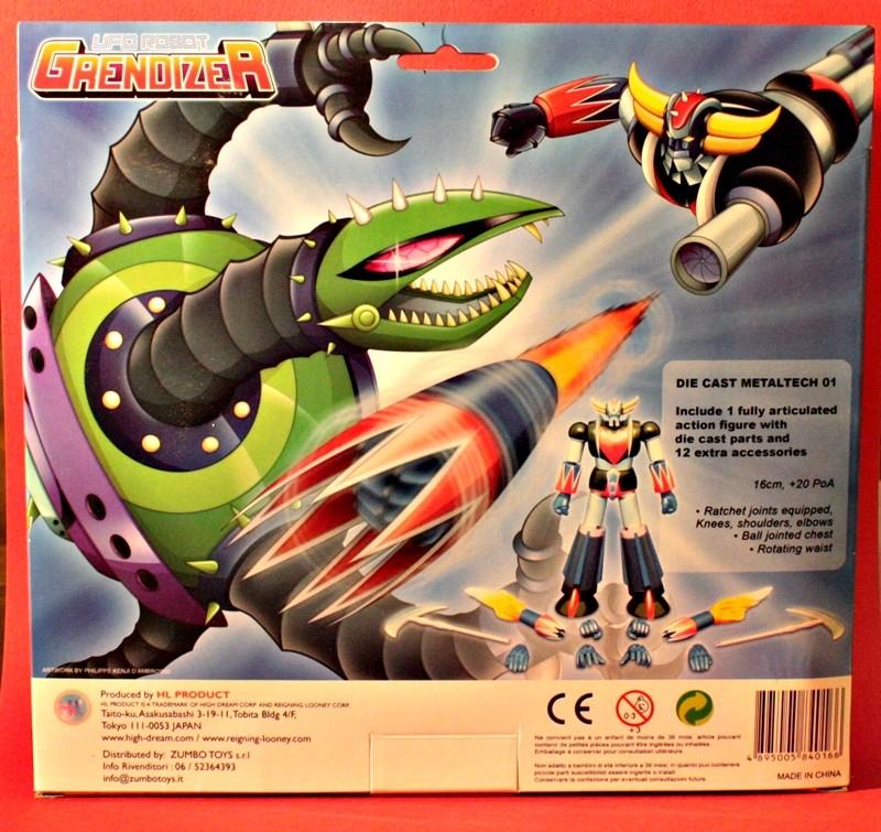 Ufo Robot GrendizeR - METALTECH 01 210