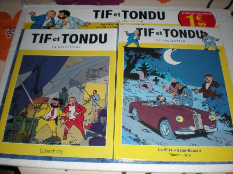 Tif et Tondu la collection , Hachette, février 2014 Dscn4256