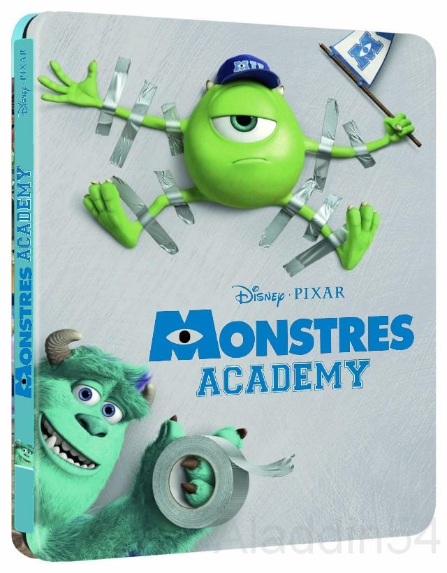 [BD + DVD] Monstres Academy (20 novembre 2013) 81spjr10