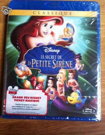 [BD/DVD] La Petite Sirène 2 et Le Secret de La Petite Sirène Disney10