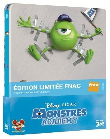 [BD + DVD] Monstres Academy (20 novembre 2013) Monstr11