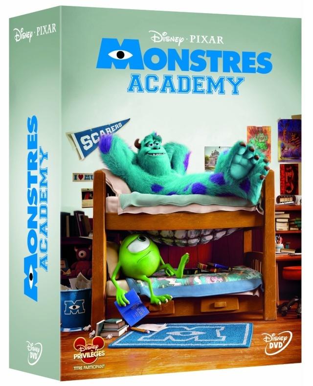 [BD + DVD] Monstres Academy (20 novembre 2013) - Page 2 Monstr12