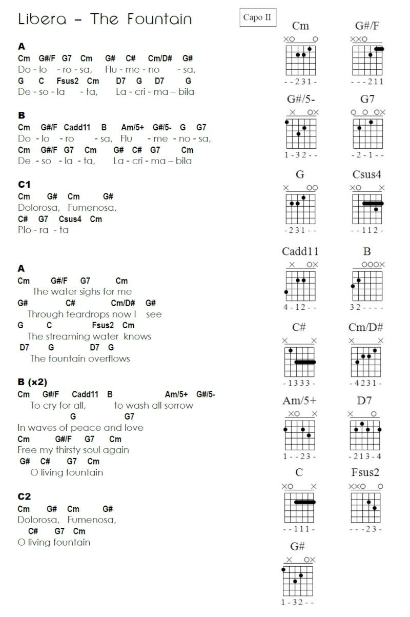 Matériel pour chanter du Libera - Page 5 Lyrics10