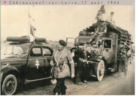 Libération de Châteauneuf Sur Loire Chatea10