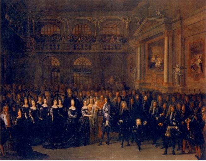Le Baptême de Louis Pisani le 6 septembre 1701. Captur29