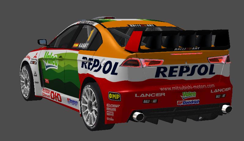 [PROYECTO] Update de Nieve para RallyWorld4.0 Evox110