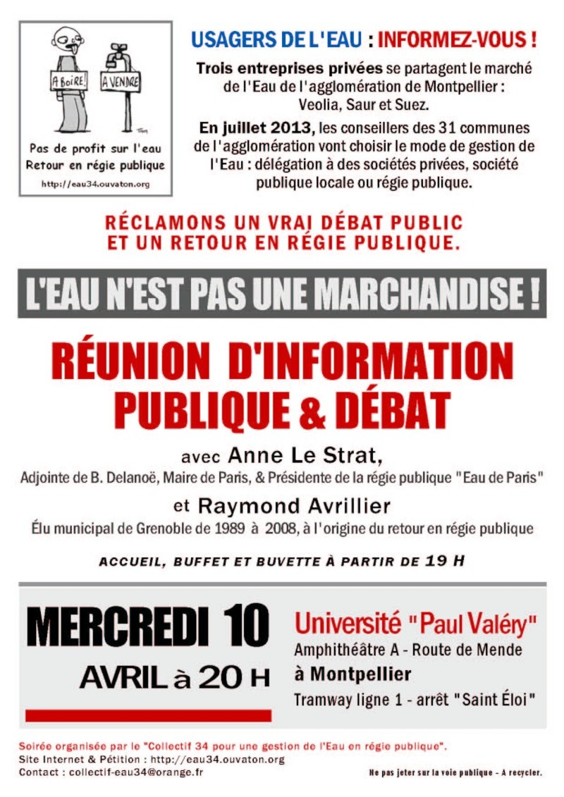 [Eau en Régie Publique] Réunion d'info publique - 10 avril 2013 Affich12