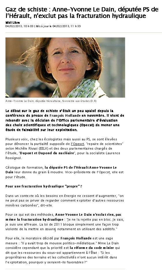 Courrier du Collectif à la Député 34 Le Dain + polémique CESER LR Ml040210