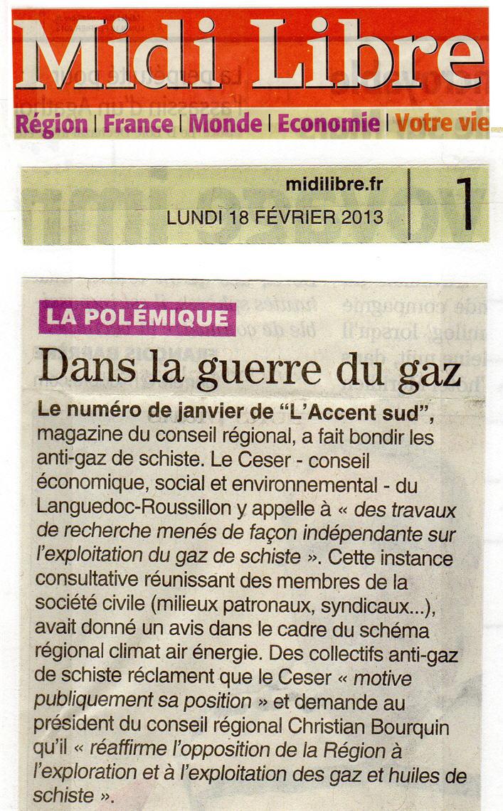 Courrier du Collectif à la Député 34 Le Dain + polémique CESER LR Ml180210