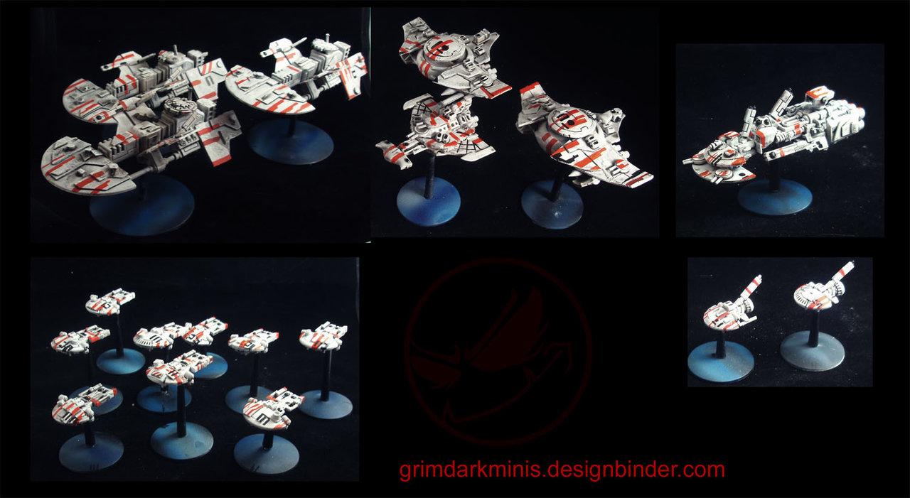 Proxy de figurines Battlefleet Gothic pour le futur et les petits nouveaux 44ad7b11