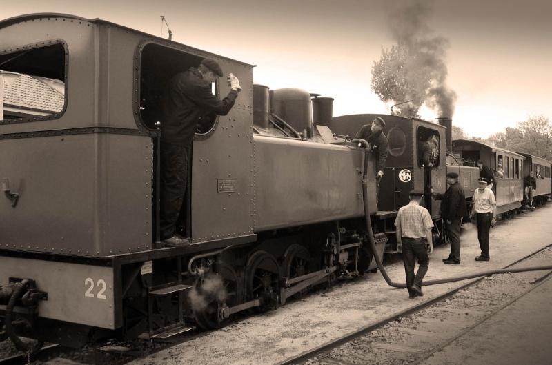 Locomotives et trains vintages Img_7414