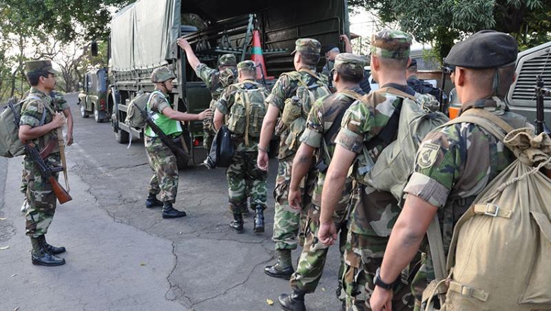 Armée du Nicaragua / Nicaraguan Armed Forces Nica410