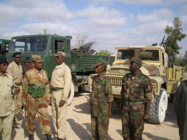 Armée Somalienne / Military of Somalia Som1010