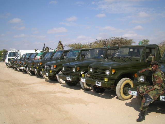 Armée Somalienne / Military of Somalia Som110