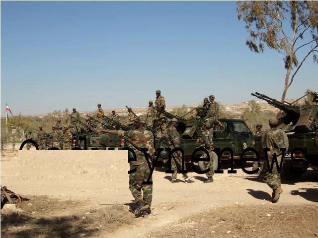 Armée Somalienne / Military of Somalia Som1210