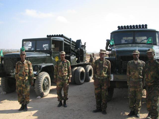 Armée Somalienne / Military of Somalia Som410