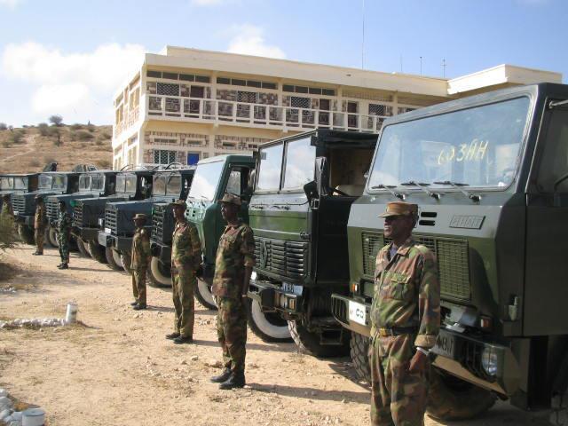 Armée Somalienne / Military of Somalia Som610