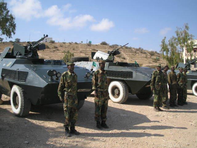 Armée Somalienne / Military of Somalia Som710