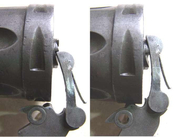 Le 1873. Ajustage d'un nouveau barillet  Rotati12