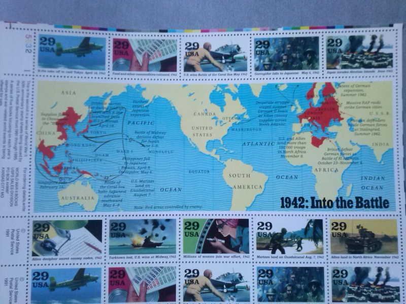 USA planches commémoratives 2è Guerre mondiale Cam00516