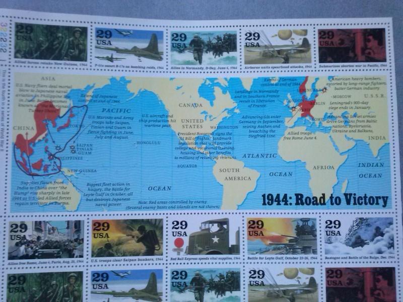 USA planches commémoratives 2è Guerre mondiale Cam00518