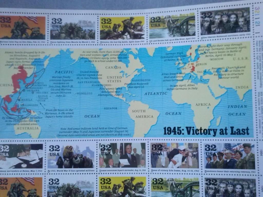USA planches commémoratives 2è Guerre mondiale Cam00520