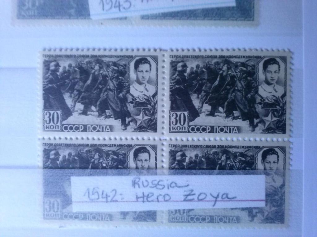 Des timbres russes représentant le front soviétique Cam00533