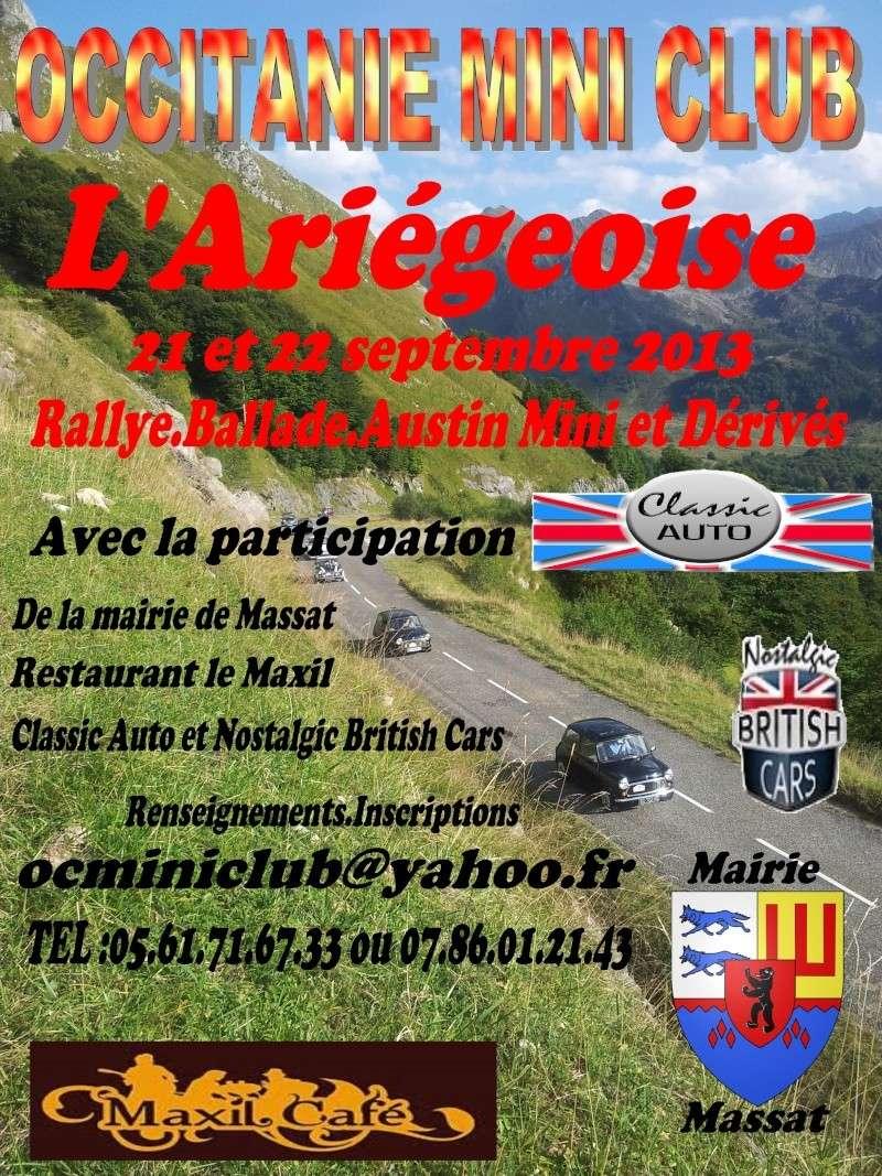 l'Ariégeoise 2013 Affich10
