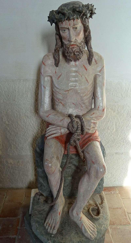 Les statues du Christ aux mains liées en Bretagne. 043sta10