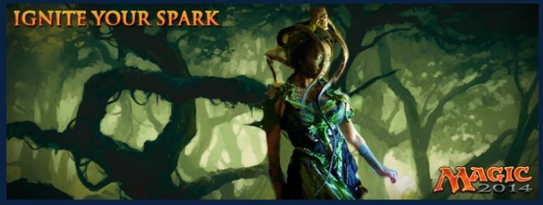 Ignite your spark : Remplacez l'un des Planeswalkers et gagnez un voyage Spark010