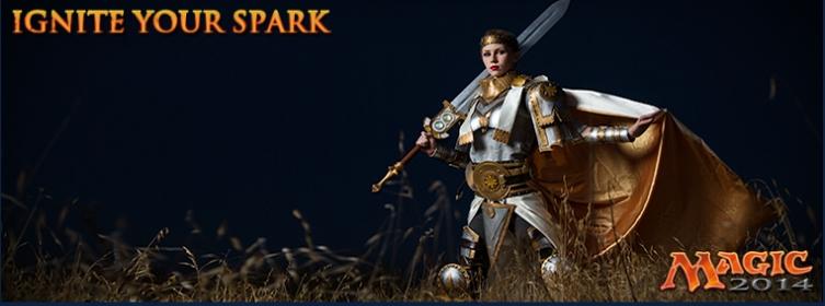 Ignite your spark : Remplacez l'un des Planeswalkers et gagnez un voyage Spark012