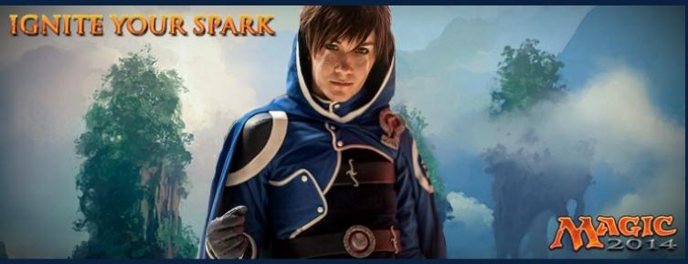 Ignite your spark : Remplacez l'un des Planeswalkers et gagnez un voyage Sparl010