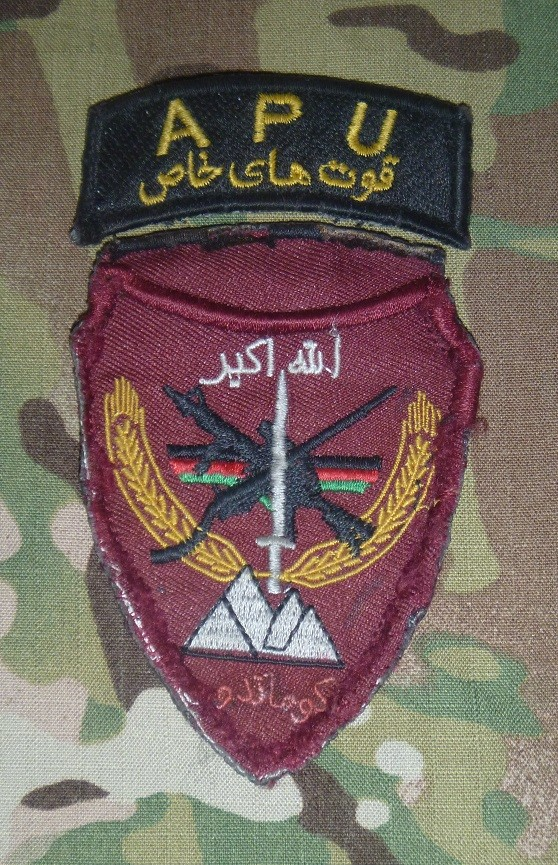 Afghan partnering unit (APU) Apu_ea10