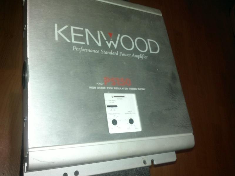 Kenwood Amplifier (Sold) Ampli-10