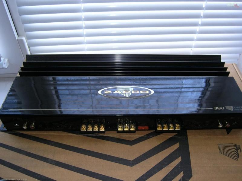 Zapco Amplifier  Pc180011