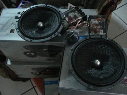 Focal N.Old Stock Clear Set-fo11