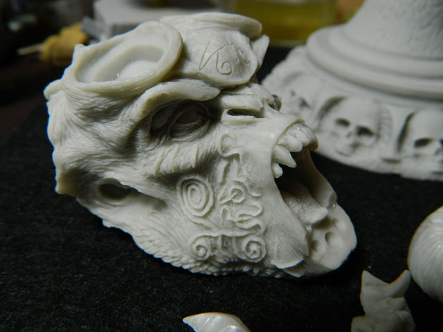 ELIGOR  buste de tres grande taille pegaso Dscn4322