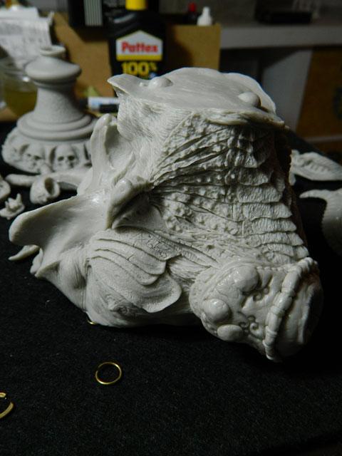 ELIGOR  buste de tres grande taille pegaso Dscn4324