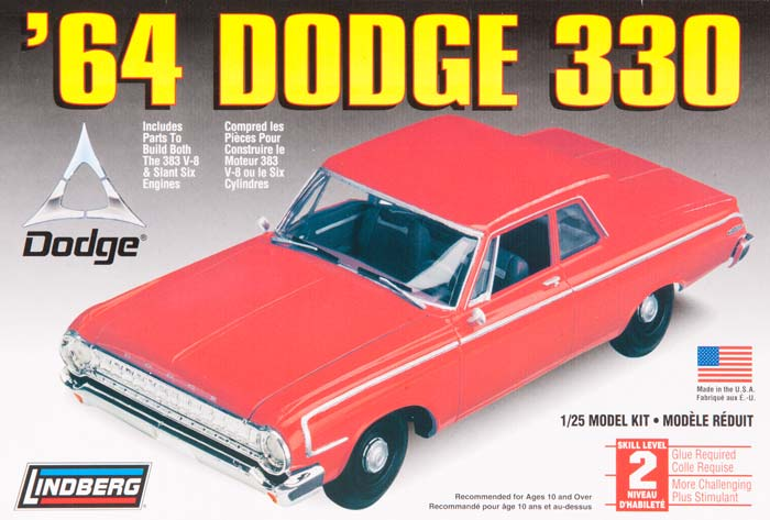 Dodge 330 1964 4 portes  Llnds210