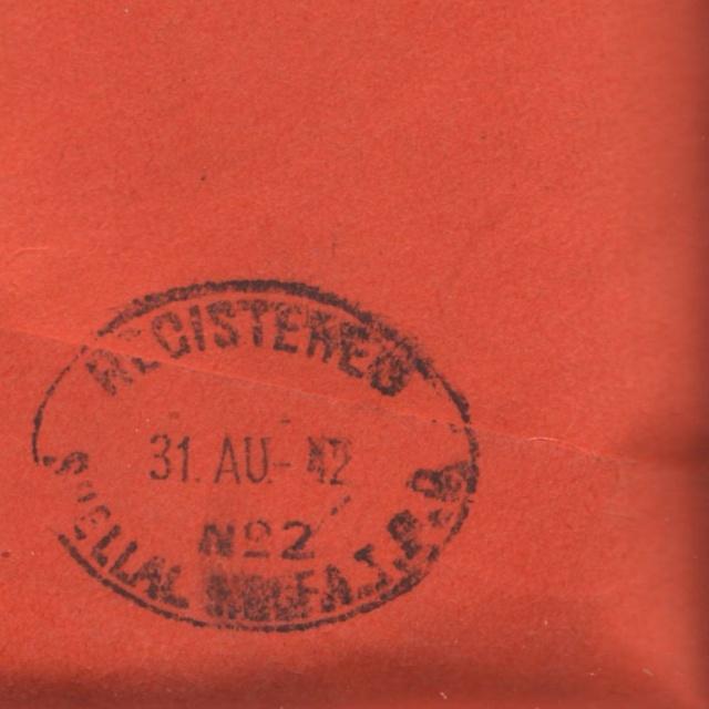 Lettre d'Asmara août 1942 pour Zurich, Contrôlée à Bordeaux. 1x_10
