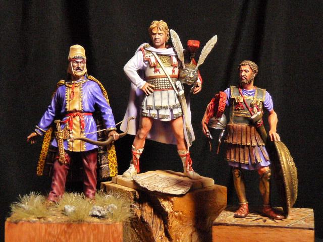 Darius III roi de perse 335 - 330 avant JC-FINI P1040919