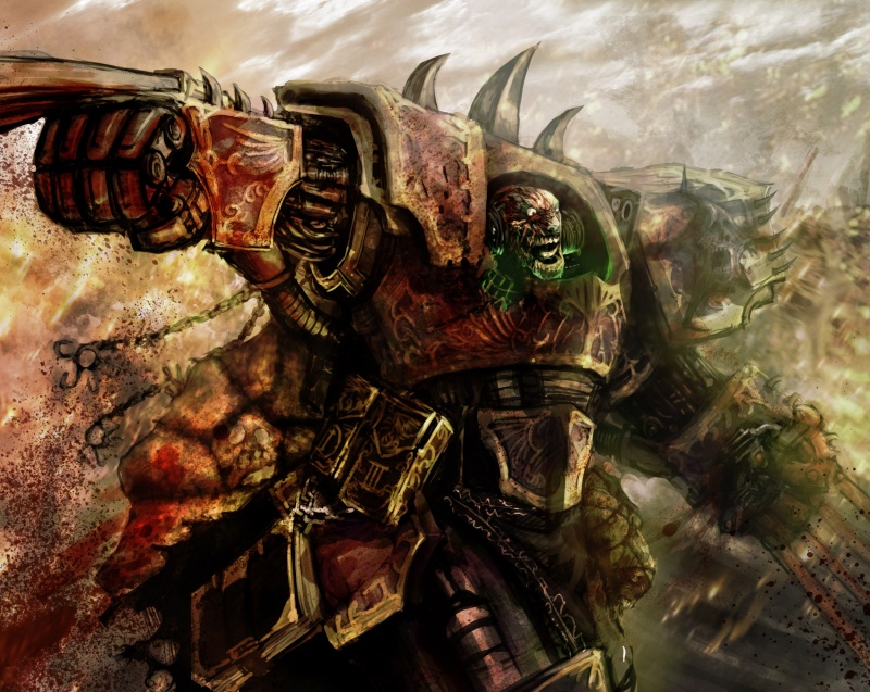 [W40K] Collection d'images : Space Marines du Chaos Claws-11