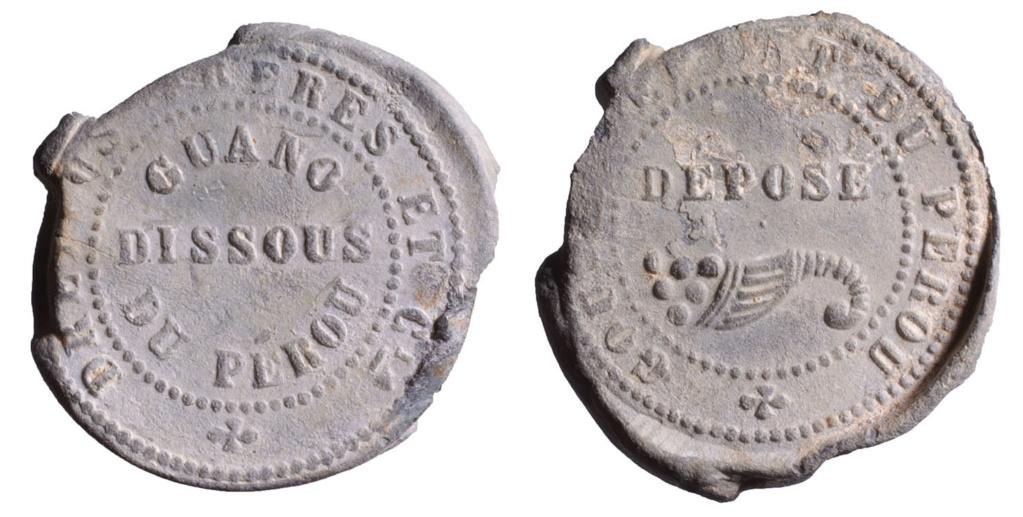 Engrais: Dreyfus frères, guano du Pérou D542710