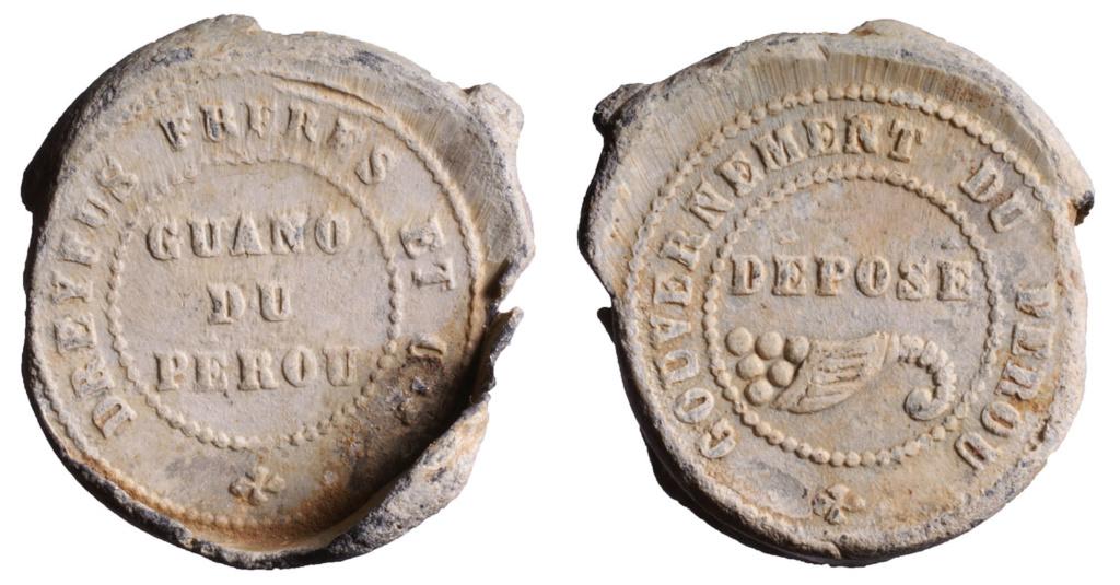 Engrais: Dreyfus frères, guano du Pérou D542910